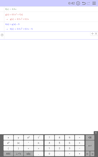 GeoGebra Exam Scientific Calc app (apk) free download for Android/PC/Windows screenshot