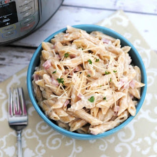 Instant Pot Ham Alfredo Recipe