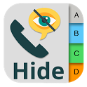 Hide Phone Number Contacts icon