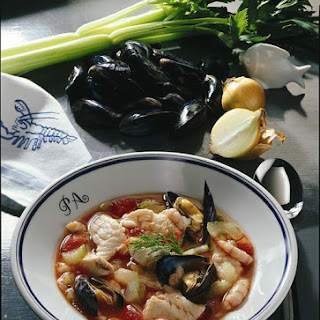 Fish Soup with Mussels.