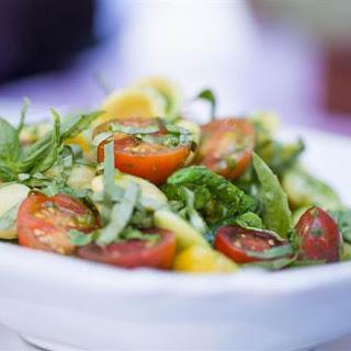 Orecchiette in Vegan No-Cook Spinach Sauce