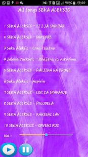 SEKA ALEKSIC SONGS - náhled