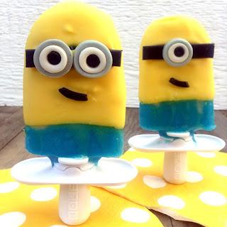 Minion Popsicles