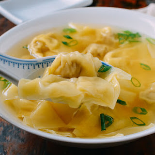 Shanghai Wonton Soup.