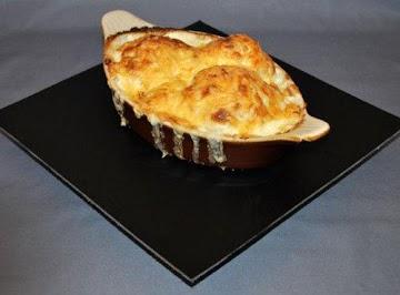 Russian Zakuski: Baked Cauliflower Cheese Recipe