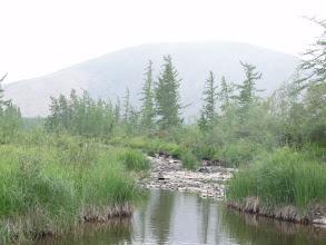 Photo: А вот это - ручей на оз. Сортлор. Нам не повезло - он совсем высох. Пришлось 2км перетаскивать вещи до чистой воды.
