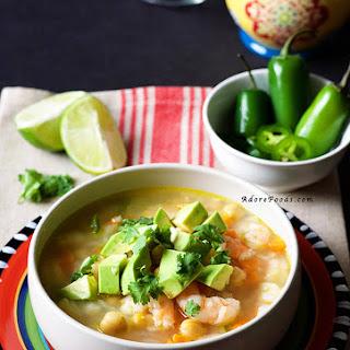 Mexican Seafood Soup (Caldo de Camarón)