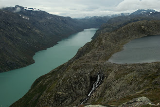 Photo: The height difference of these lakes is about 400 metres