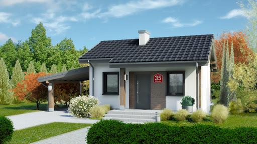 projekt Dom przy Bukowej 35