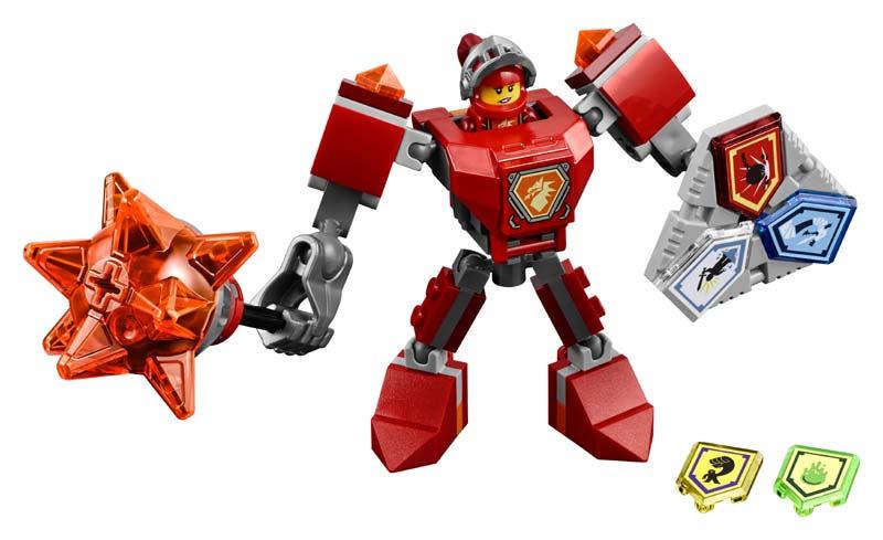 Contenido de Lego® 70363 Macy con Armadura de Combate