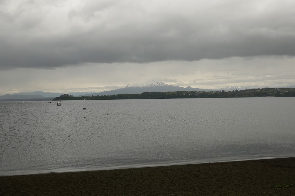 Lago Llanquihue and Osorno, viewed from Puerto Varas