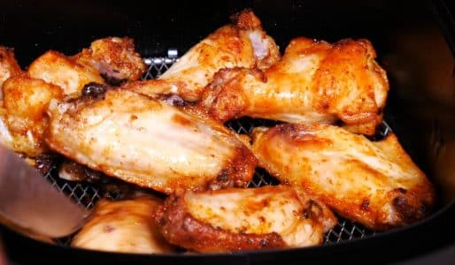 Philips airfryer review demo chicken wings -4