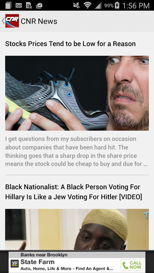 CNR: Conservative News Reader- screenshot