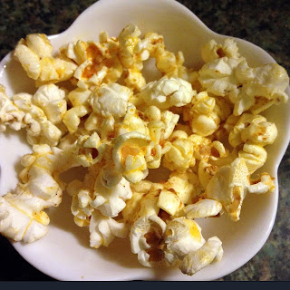 Buffalo Barbecue Popcorn