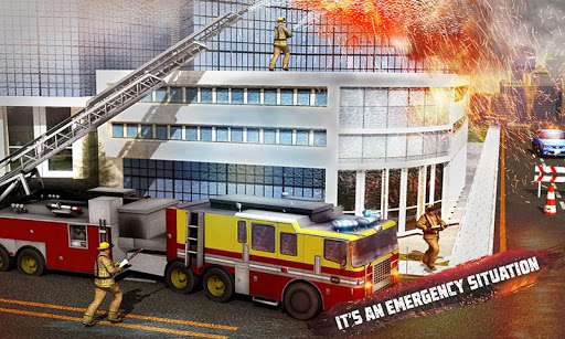 ? Rescue Fire Truck Simulator: 911 City Rescue 1.3 screenshots 1