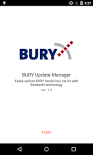 Bury Update Manager - náhled