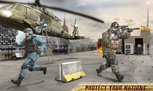 Freedom Forces Battle Shooting - Gun War 1.0.8 screenshots 6