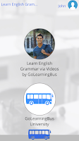Screenshot of Learn English Grammar