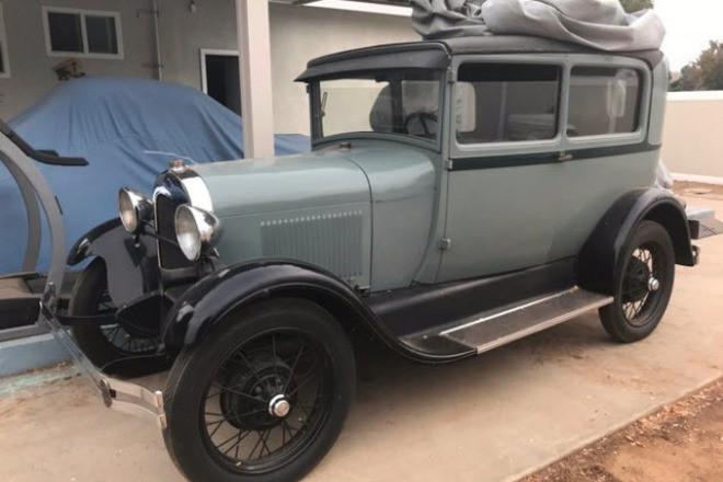 1928 Ford A Tudor Hire CA