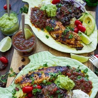 30 Mins Mexican Tilapia Fish Dinner