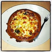 Photo: Caracoles gratinados con queso mozzarella #entrada #delicioso #comida #foodporn