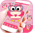 Pink Owl Love Theme icon