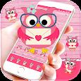 Pink Owl Love Theme apk