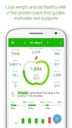 Calorie Counter - MyNetDiary 6.6.3 screenshots 1