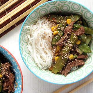Aromatic Beef with Green Onions