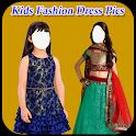 Kids Fashion Dress Pic icon