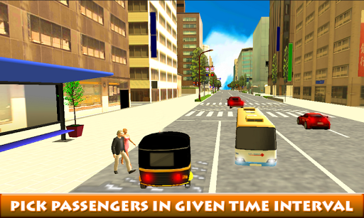 City Auto Rickshaw Driver
