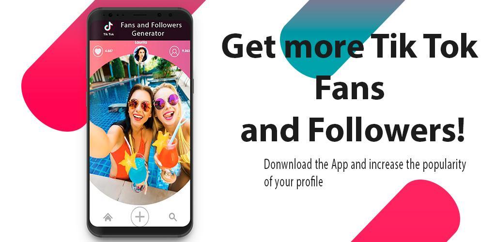 تحميل Free Fans Followers - Fans and Likes for Tik-Tok APK أحدث