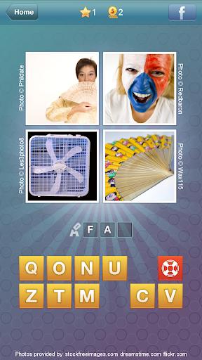 What's the Word: 4 pics 1 word screenshot 2
