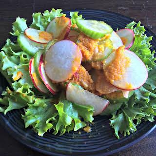 Japanese Ginger & Carrot Salad Dressing.