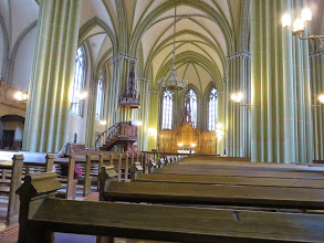 Photo: Inside St Gertrude church