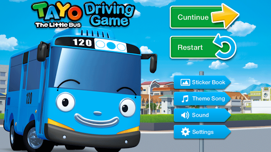 Tayo's Driving Game- screenshot thumbnail