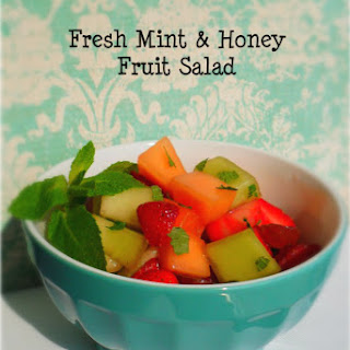 Fresh Mint & Honey Fruit Salad