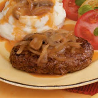 Traditional Salisbury Steak.