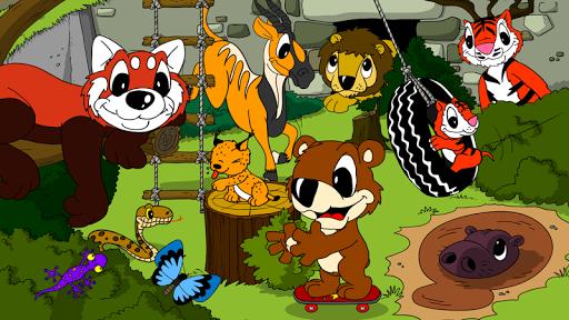玩免費冒險APP|下載儿童动物园泰迪熊游戏 app不用錢|硬是要APP