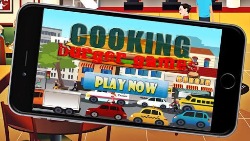 烹飪漢堡早餐遊戲