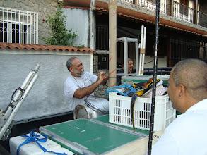 Photo: Arrumação da carga na saida