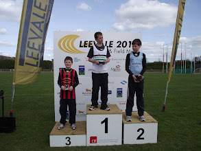 Photo: Jack Ryan, 3rd in the Boys U/12 High Jump at Leevale Sports 2012