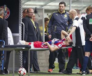 Vrees wordt werkelijkheid: zware blessure voor Martinez