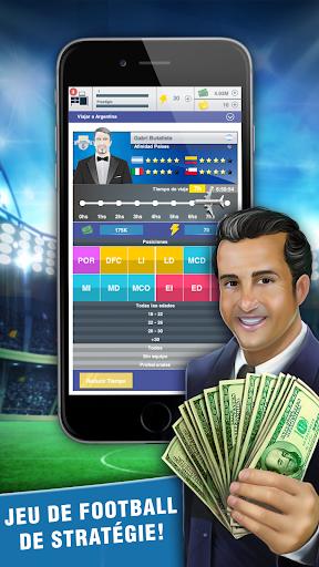 Football Agent - Mobile Foot Manager 2019  captures d'écran 2