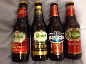 Photo: Local Seasonal Beers- a gift from a Dutch pal...