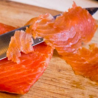 Vodka Dill Cured Salmon Gravlax