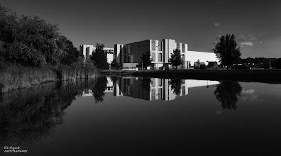 Photo: reflection noire ...