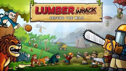 森林防御战: 猴子传奇 塔防 - Lumberwhack