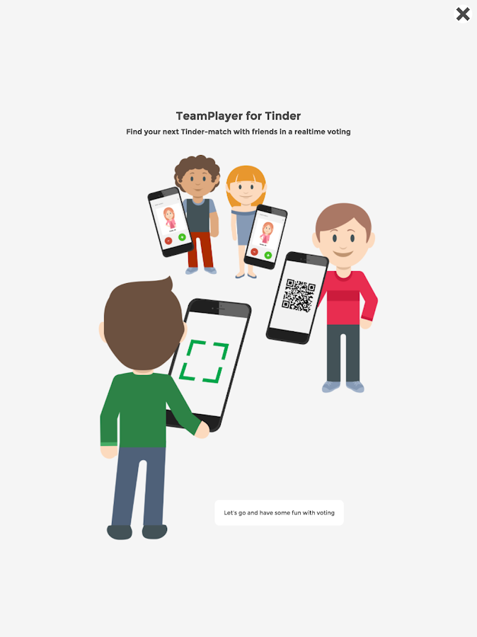 Team Player for Tinder (group)- screenshot