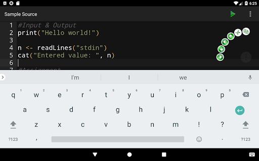 R Programming Compiler screenshot 15